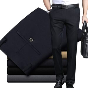 Elasticity Casual Pants Business Trousers
