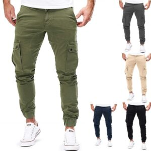 Joggers Cargo Pants Military Sweatpants