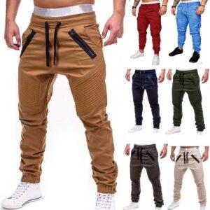 Casual Joggers Pants Thin Sweatpants