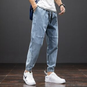 Summer Cotton Casual Baggy Jeans