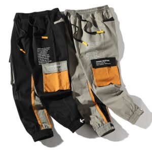 Hip Hop Casual Jogger Trousers