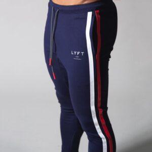 Stripe Sweatpants Workout Cotton Trousers