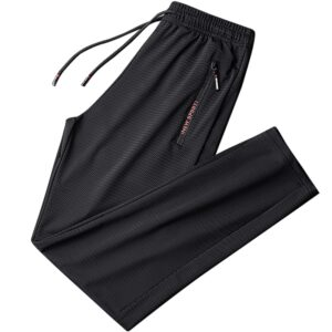 Summer Breathable Sweatpants Baggy Trousers