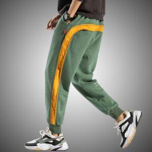 Striped Sweatpants Fashion Jogger Pants