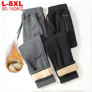 Winter Track Pants Chinese Streetwear
