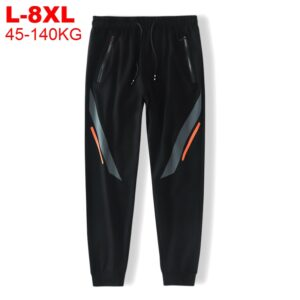 Men Track Pants Chinese Trousers