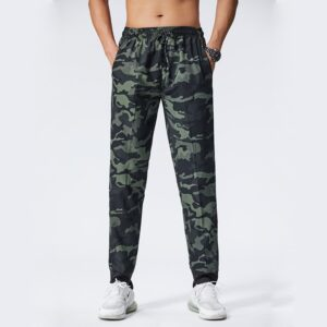 Camouflage Men Pants Fitness Trousers