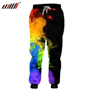 3D Joggers Pants Fashion Trousers