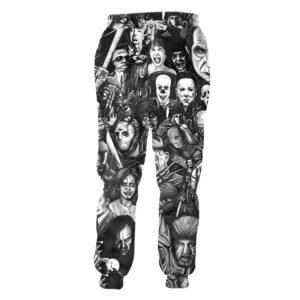 Clown Joker Joggers Harem Pants