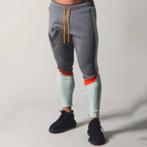 Casual Trousers Fashion Patchwork Pants