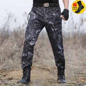 Tactical Cargo Pants Hunting Trousers
