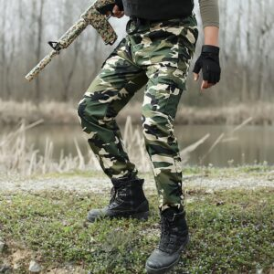 Military Camouflage Tactical Pants Men