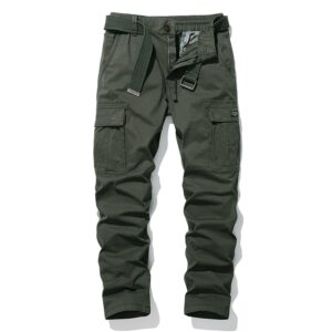 Cotton Cargo Trousers Casual Pants