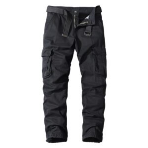 Cotton Work Trousers Cargo Pants