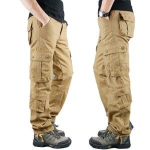 Cargo Pants Military Men Trousers