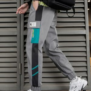 Cargo Pants Patchwork Spring Joggers
