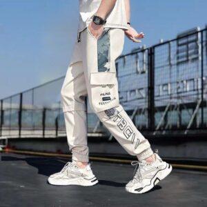 Mens Summer Military Joggers Pants