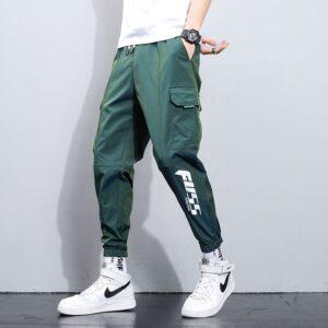 Fashion Trousers Reflective Harem Pants