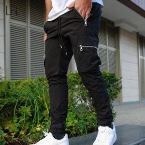 Men Jogger Slim Fit Workout Trousers