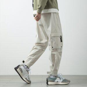 Summer Cargo Pants Men Streetwear