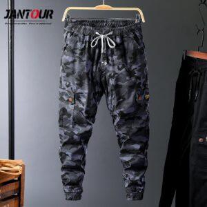Men Streetwear Winter Cargo Pants