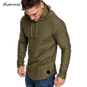 Fashion Men Hoodies Slim Sweatshirt