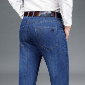 Men Comfort Stretch Denim Pants