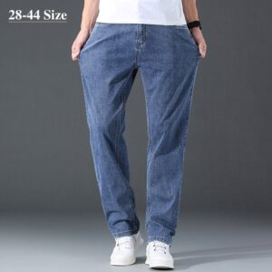 Casual Fashion Washed Cotton Jeans