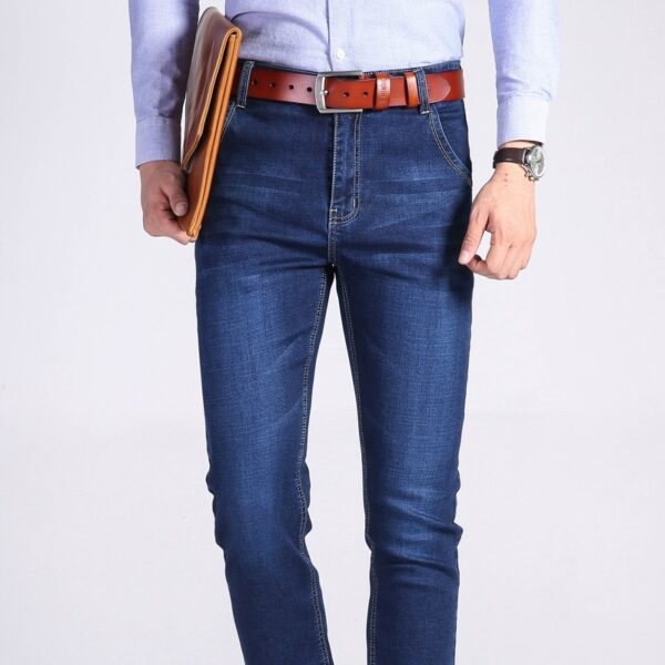 Business Casual Slim Stretch Jeans