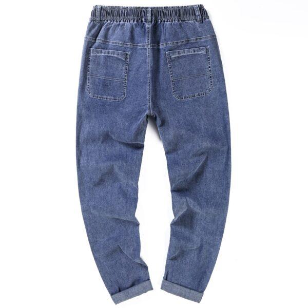 Summer Men Harem Jeans Pants