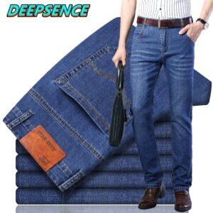 Smart Casual Jeans Fashion Pants