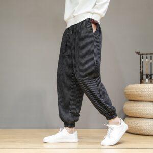 Cotton Linen Baggy Harem Pants