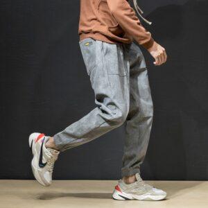 Men Winter Pants Classic Sweatpants