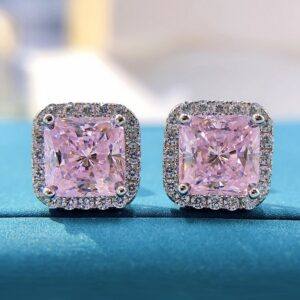 Diamond Stud Earrings Wedding Jewelry