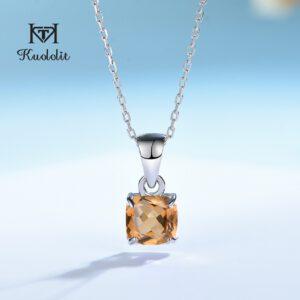 Diaspore Gemstone Pendant for Women Necklace