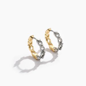 Color Earring Round Fashion Jewelry