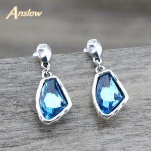Retro Charms Irregular Crystal Earrings