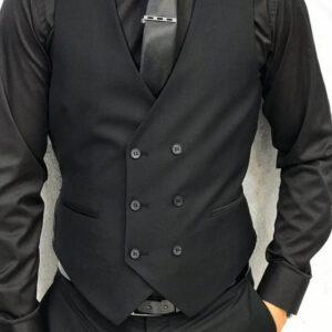 Formal Men Vest Suit Waistcoat