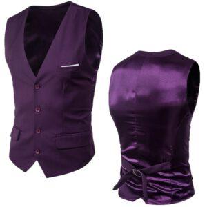 Formal Business Wedding Dress Vest