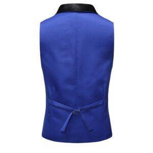 Fashion Shawl Collar Tuxedo Vests