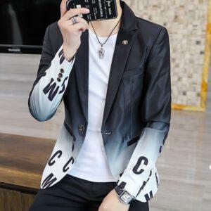 Men Fashion Blazer Casual Jackets