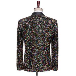 Sequin Bling Glitter Blazer Suit