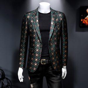 Stage Casual Blazer Wedding Suit