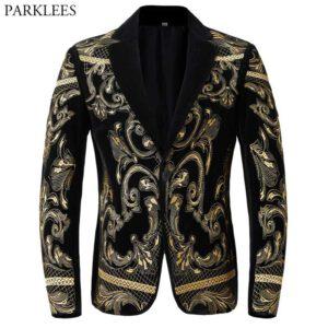 Floral Embroidery Blazer Luxury Jacket