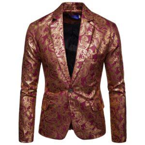 DJ Nightclub Stage Suit Blazer